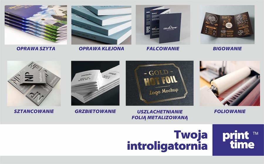 Drukarnia PrintTime - Introligatornia Foliowanie